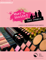 Photo: What's Inside? That Counts: A survey of toxic ingredients in our cosmetics